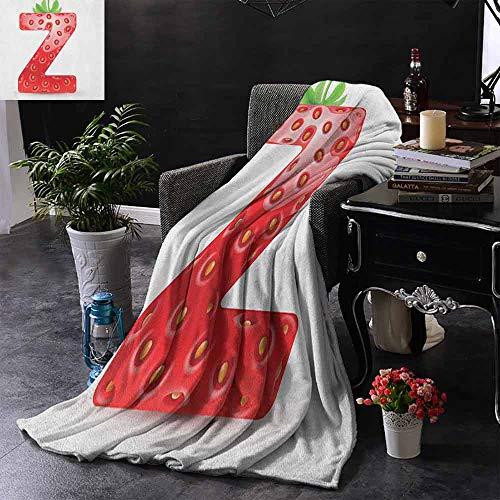 ZSUO Digital Printing Deken Verse Zomer Tuin Bloem Bed en Leuke Vlinders Kleurrijke Vleugels Bladeren Zachte en comfortabele slaapbank