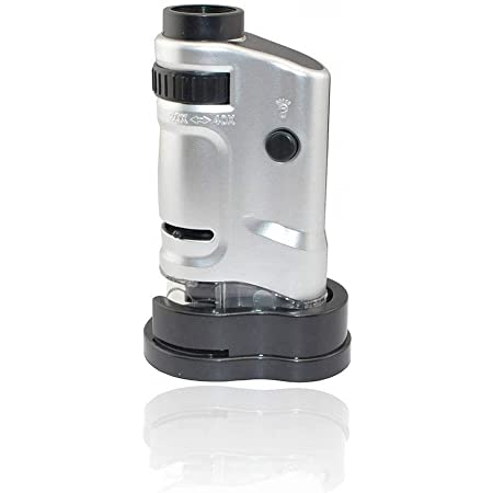 Jiusion Tragbares Mini Mikroskop 20 Fache Und 40 Fache Kamera
