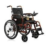 KSW_KKW Silla de Ruedas eléctrica, 20AH Plegable Powerchair con la batería de Litio-Silla de Ruedas Silla de Ruedas eléctrica Moto for Ancianos discapacitados