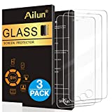 Ailun Screen Protector Compatible with iPhone 5S iPhone SE (2016) iPhone 5 iPhone 5c 3Pack Tempered Glass