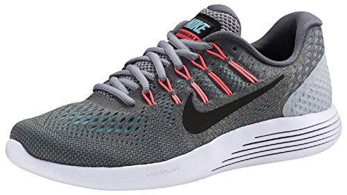 Nike Damen WMNS Lunarglide 8 Fitnessschuhe, Mehrfarbig (Cool Grey/Black-Wolf Grey-Pola 009), 40.5 EU