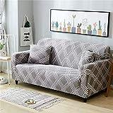 PPMP Funda de sofá Universal Funda de sofá elástica sofá Silla Tiro sofá Esquina Caja de la Cubierta decoración del hogar Funda de sofá A16 1 Plaza