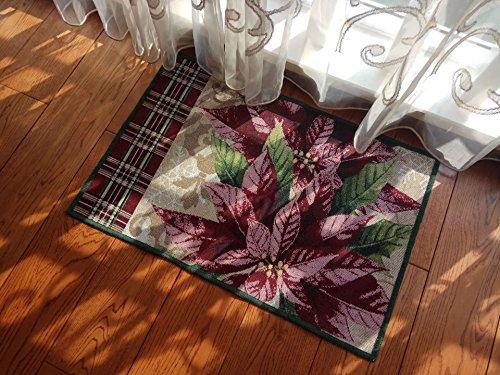 Lily et ses amies Dessin animé mignon Chat Chaton/Bloom Fleurs Tapis de sol 48 x 68 cm pour salle de bain, cuisine, salon, chambre à coucher, Tapis antidérapant Paillasson d'intérieur Pied Moquette