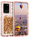 Coolden Case for Samsung S20 Ultra Case Glitter Heavy Duty