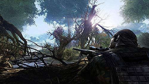 XYDH Puzzle De Madera De 1000 Piezas para Adultos Juego Sniper-Ghost Warrior 2 Rompecabezas De Madera Real De con 1000 Piezas para Adultos Y Familias-75x50CM