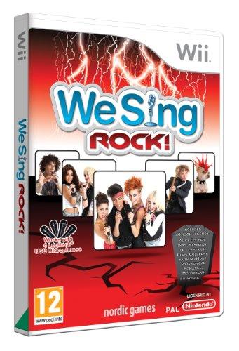 Nordic Games We Sing Rock! - Juego (Nintendo Wii, Música, PG (Guía parental))