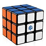 D-FantiX Speed Cube 3x3, Gan Speed Cube 3x3x3 Magic Cube Puzzle Toy Black