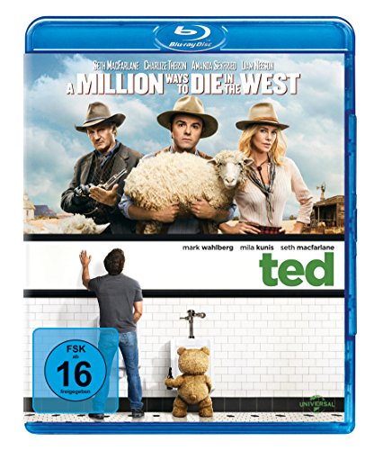 Ted & A Million Ways to Die in the West [Blu-ray]