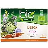 Yves Ponroy Détox Foie Bio Extraits de Foie Ampoules 20 x 10 ml PDFO