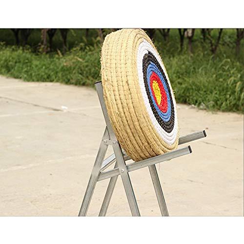 aleawol 60 Pounds Hold Straw Round Archery Target Hand-made Archery Target...