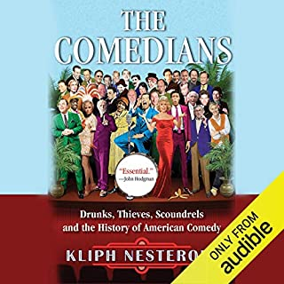 The Comedians audiobook cover art