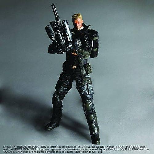 Square Enix Deus EX  Human Revolution - Lawrence Barrett 25cm