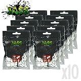 Lot de 10 sachets de 150 filtres acétane cigarette roulée JASS 6mm (style OCB, gizeh ou rizla)