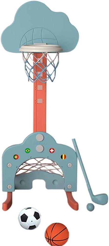 Soccer Gorgeous Goal Award-winning store Toddler Basketball Hoop Set Stand Height Adjustable