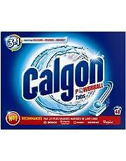 Calgon Anti-calcaire 2 en 1, protège du calcaire et maintient votre lave linge propre - Le paquet de 48 tablettes