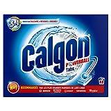 Calgon Pastilles Anticalcaire Nettoyant Lave-Linge 3en1 - 48 Tablettes