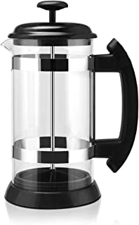 Goolsky i cafilas 1000ml Stainless Steel French Press Pot Cafetiere Coffee Cup Borosilicate Glass Coffee Maker Tea Filter ...