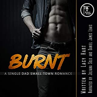 Burnt     A Single Dad Small Town Romance              Written by:                                                                                                                                 Lacy Hart                               Narrated by:                                                                                                                                 Juliana Solo,                                                                                        Daniel James Lewis                      Length: 4 hrs and 58 mins     Not rated yet     Overall 0.0