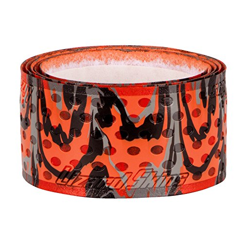 Lizard Skins 1.1mm Camo Bat Grip, Orange Camo