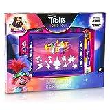 Trolls Magnettafel Kinder, Magnetische Löschbare Maltafel Zaubertafel Jungen und Mädchen, Zeichenbrett Kreativ Spielzeug, Pädagogische Lernspielzeug, Geschenke für Kinder