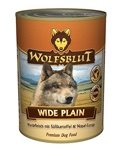 Wolfsblut Wide Plain, 6er Pack (6 x 395 g)
