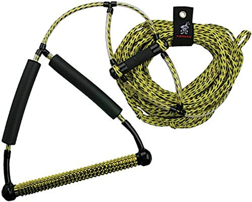 AIRHEAD Wakeboard Rope, Phat Grip, Trick Handle, Yellow