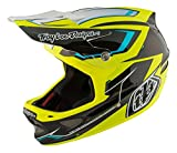 Troy Lee Designs Composite Cadence Adult D3 Bike Sports BMX Helmet - Black/Yellow/Large