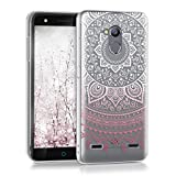 kwmobile Clear Case Compatible with ZTE Blade V7 Lite (5