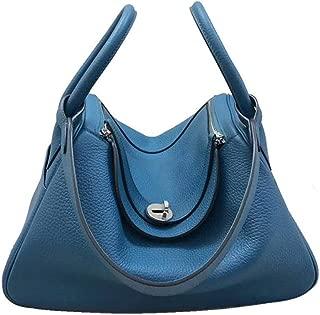Rjj Ms. Embossed Business Backpack/Shoulder Portable Diagonal Package Exquisite (Color : Green)