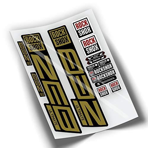 Pegatinas Rock Shox Zeb Ultimate (Oro)