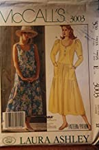 McCall's Pattern 3003 Size 12 / Laura Ashley / Misses' Dress