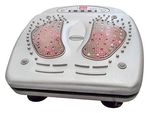 Dispositivo di massaggio dei piedi Infrarossi con Telecomando e 15livelli di corrente (M6562)