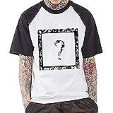 Xxxtentacion Camiseta Moda Cuello Redondo Impresa Manga Corta Camiseta Deportiva Top de algodón Puro Unisex (Color : A01, Size : XL)