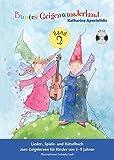 Buntes Geigenwunderland Band 2: Noten, CD für Violine