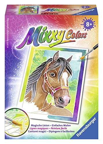 Ravensburger Mixxy Colors Malen 29105 - Pferdeportrait