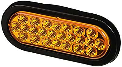 Buyers Products Amber Oval LED Strobe Light
