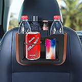 Yideng 2 en 1 - Cesta de basura para el coche, organizador para el maletero impermeable y plegable, multifunción, con mini mesa para coche, SUV, camión, minivan y coche