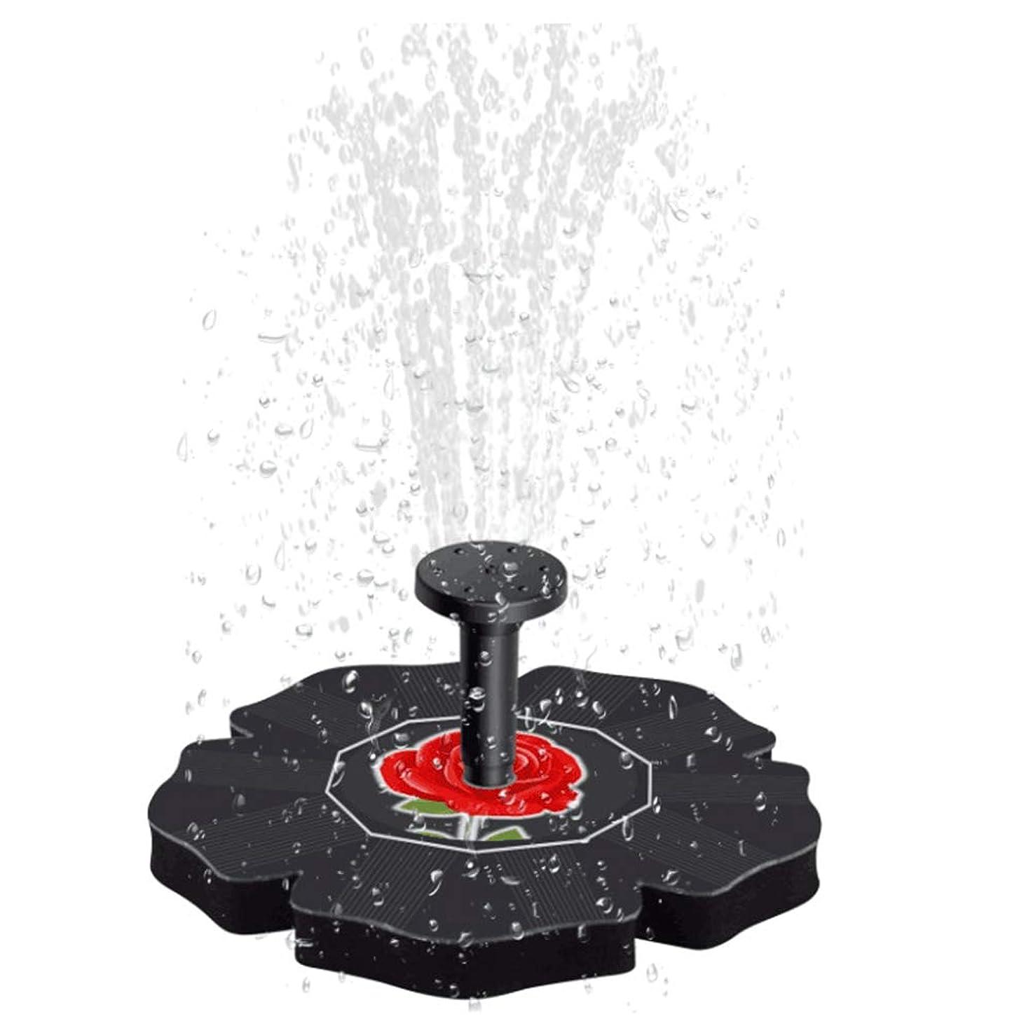 砂鉱夫不正確VOSAREA 鳥風呂噴水水ポンプソーラーパワーポンプブラシレスフローティング漂流パネル用鳥風呂水槽水槽水族館庭の芝生