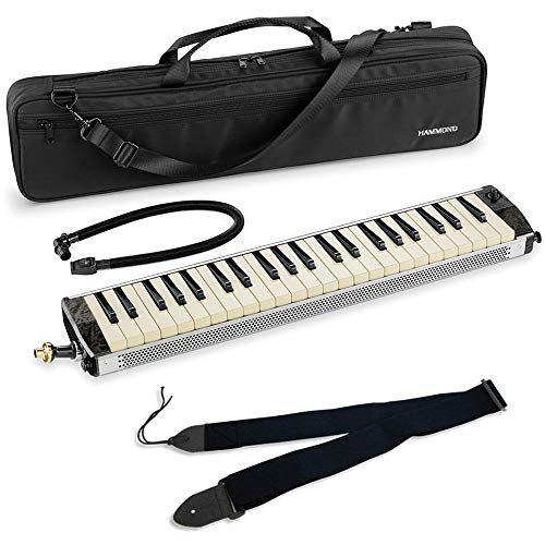 【汎用ストラップ付】SUZUKI スズキ HAMMOND PRO-44HPv2 ピックアップマイク内蔵 エレアコ 鍵盤ハーモニカ