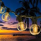 ROVLAK Catena Luminosa Esterno LED 6.8M Stringa Lampadine Luci IP44 Impermeabile 16+2 G40 Filo Lampadine Luminarie da Esterno Decorative per Giardino Natale Terrazza Matrimonio Partito