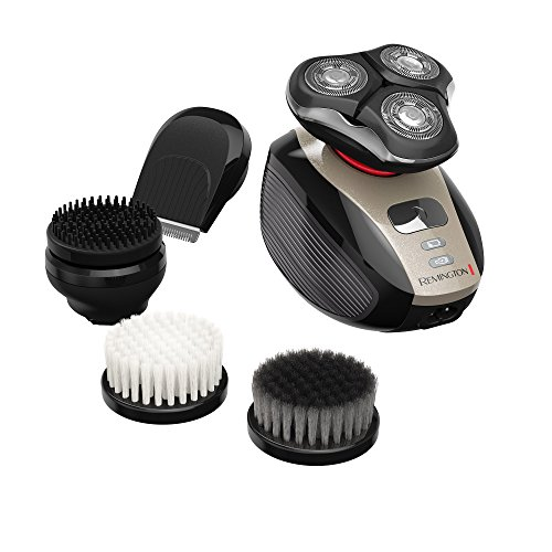 Remington XR1410 Verso Wet & Dry Men's Shaver & Trimmer Grooming Kit, Men's Electric Razor, Facial Cleaning Brush, Beard Trimmer