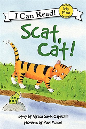 Scat, Cat! (My First I Can Read) (English Edition)