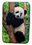 Fig Design Group Panda Bear in Tree RFID Secure Theft Protection Credit Card Armored Wallet New