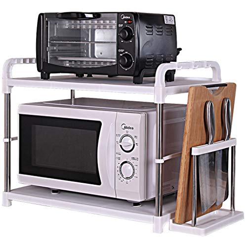 LAOSUNJIA Keuken Magnetron Oven Plank RVS Grote Elleboog Haak Staal Buis Versterking Antislip Valhek Veiligheid Hek Remschijf Pulley Ontwerp