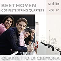 Beethoven: Complete String Quartets, Vol. 4 by Quartetto di Cremona