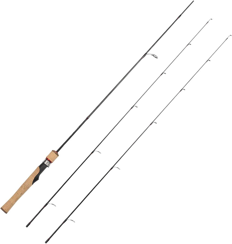 Spinning Rod UL L 2 Tips 1.68m Ultralight 1 321 4oz 28LB Carbon Soft Fishing Rod Peche Fishing Tackle