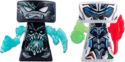 VS Rip-Spin Warriors MAX Steel 2 Pack - Mortum vs MAX Steel