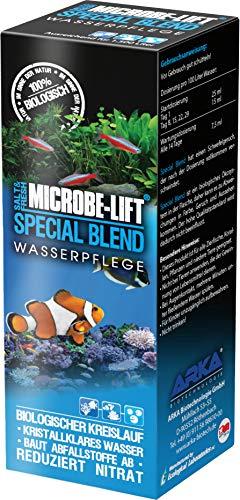 MICROBE-LIFT Special Blend – hochaktive Bakterien, für naturnahes Aquarium, fördert Abbau von Verunreinigungen, Süß- und Meerwasser, 118ml