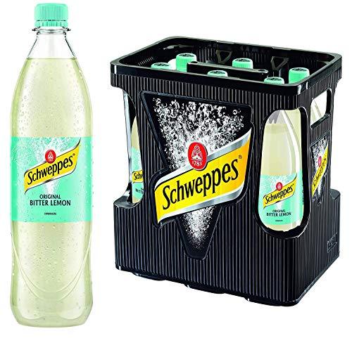 Schweppes Bitter Lemon 6er 1Liter PET (6 x 1l Flasche)