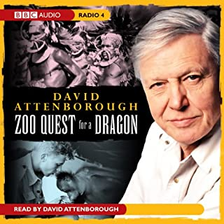 Zoo Quest for a Dragon audiobook cover art